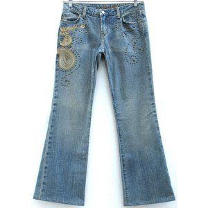 Streets Ahead Vintage Flare Jeans BoHo Sz 29